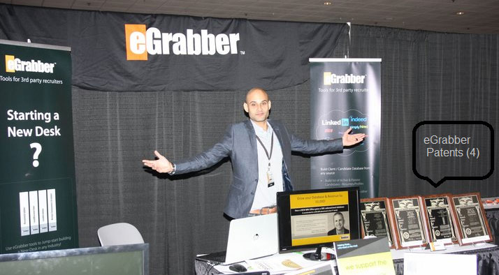 eGrabber Booth at MRINetwork Global event in Las Vegas OCT 2013