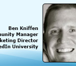 Ben Kniffen, Community Manager, Linked University