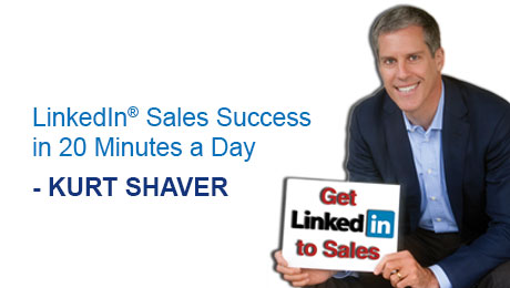 Expert Webinar:LinkedIn® Sales Success in 20 Minutes a Day by Kurt Shaver 2