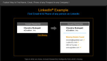 Account-Researcher tool adds email address to your prospects