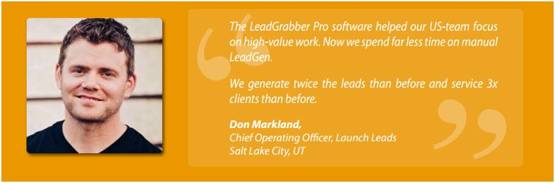LeadGen tool- Launch Leads