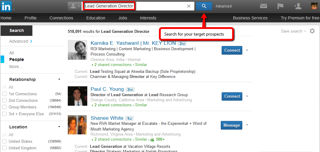 how to generate leads everyday with linkedin
