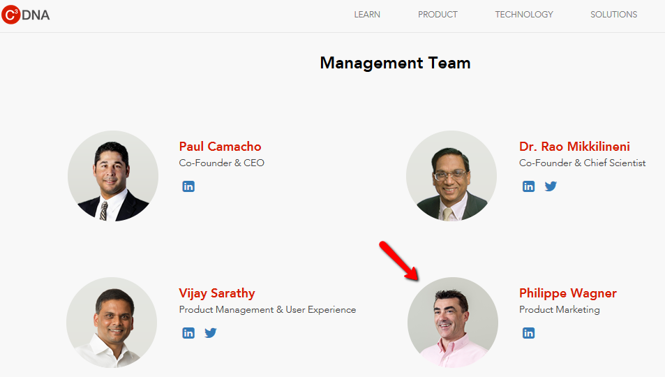 targeting a management team - no email address