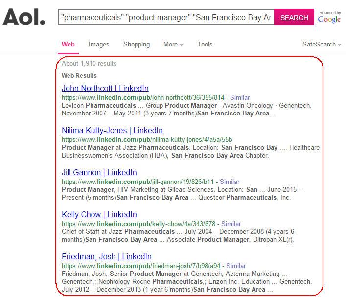 AOL user #11397522: aol history - searchids.com