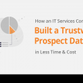 How an IT services company built a trustworthy prospect database in less time & cost 1