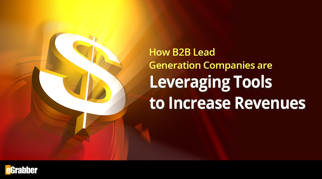 How B2B Lead Generation Companies are Leveraging Tools to Increase Revenues 1