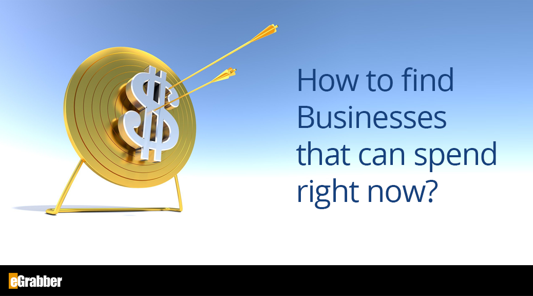 How to find Businesses that can spend right now? 1