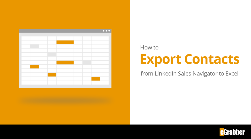How to Extract / Export Data from LinkedIn Sales Navigator Lists to Excel 5