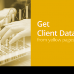 how to get clients database from yellowpages directories