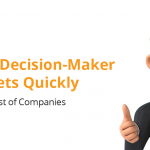 How to Find Decision-Maker Targets Quickly with a List of Companies 13