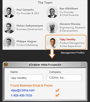Find Email Addresses of CEO, CFO, VP, Director - Leads / Prospects