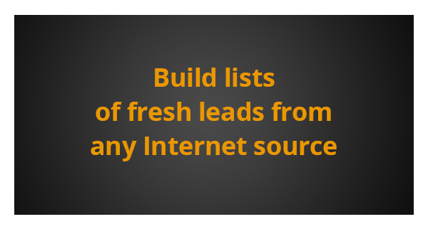 Extract Business Leads, Contact List | Data Extractor Software
