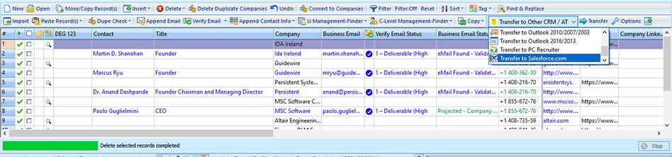 How to build account based prospect lists based on geographical region?